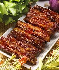Sertés sült barbecue módra