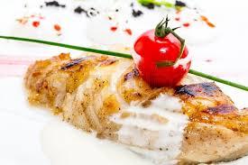 Grill tengeri halfilé dijoni mustármártással