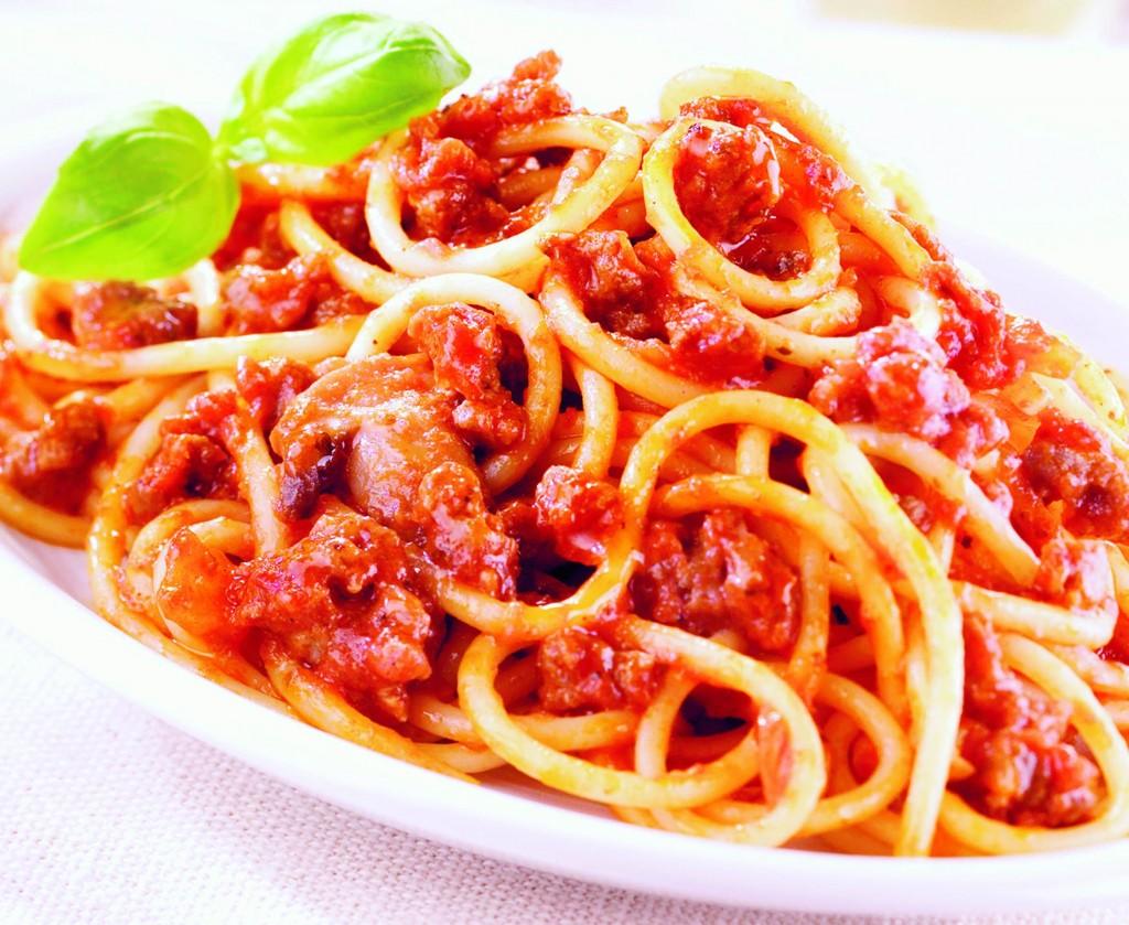 Paradicsom Étterem Zalaegerszeg Menü kép - Bolognai spagetti