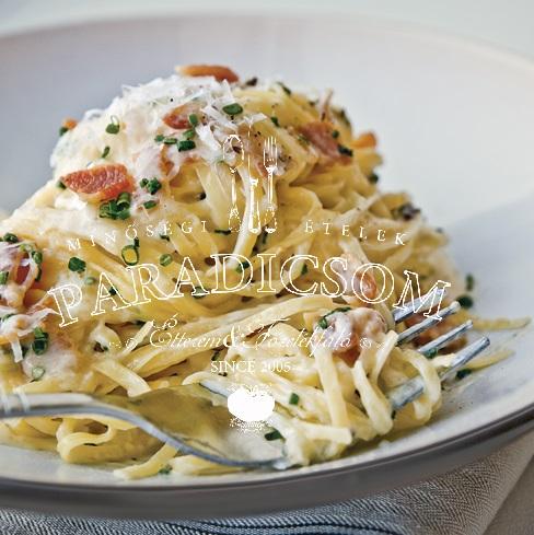 Paradicsom Étterem Zalaegerszeg Menü kép - Carbonara spagetti